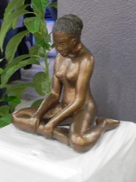 sculpture la pensive