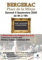Actualité de Ruiz Marie Sculpteur Vide-atelier d'artistes Bergerac