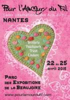 Pour l'amour du fil à Nantes , sylvie deschamps LE BEGONIA D'OR - Atelier de broderie main