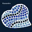 Création 2015 - Kassandra 7 ans. Elève du mercredi Un Coeur pour sa tatie