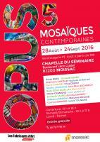 OPUS 5 - Mosaïques contemporaines - Moissac , Carol - TESSELLES ET MOSAIQUES Lamglait TESSELLES ET MOSAIQUES
