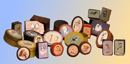 boîtes cartonnées