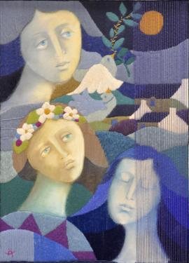 Saisons 1er prix d'art mural du Salon d'Automne de Paris (2010)