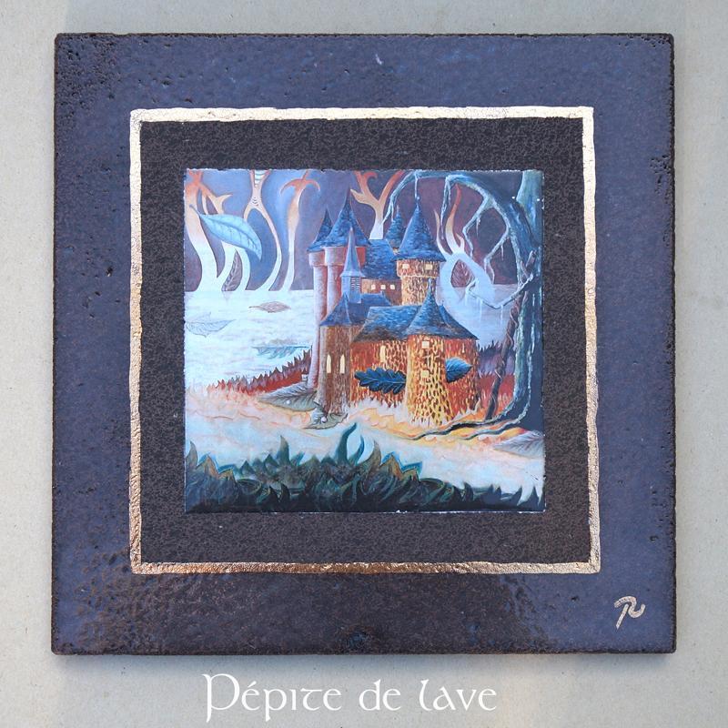 cr ation de rose desmaisons p pite de lave 34815. Black Bedroom Furniture Sets. Home Design Ideas