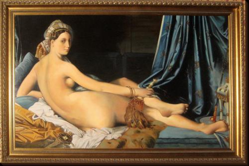 La Grande Odalisque d'Ingres (copie)