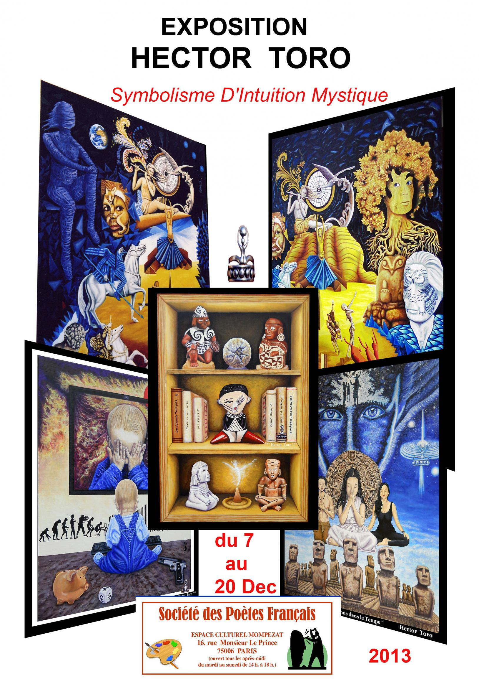 Actualité de Toro Hector ART Exposition de Hector Toro Symbolisme d'Intuition Mystique