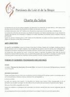 Actualité de  PRESBYTERE DE MONTOIRE SUR LOIR 10 ème - SALON D'ART CHRETIEN CHARTE  DU SALON ART CHRETIEN MONTOIRE