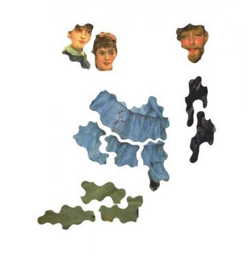 Les premières pièces - nos découpes préservent les visages.