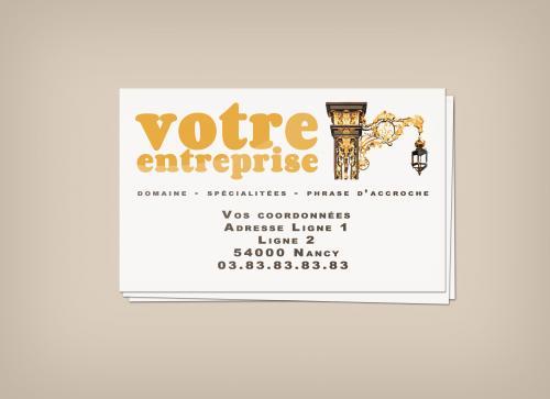 Une carte de visite sur mesure pour vous ou votre entreprise? Aucun problème, contactez nous pour un devis personalisé:   contact@gentlestudio.fr