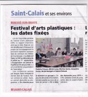 Actualité de Festival des Arts Plastiques de Besse sur Braye  Festival de Courtanvaux