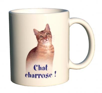 mug MEZ - chat charrose