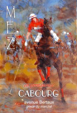 affiche - polo 4 MEZ Cabourg