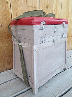 Boîte à pêche restylée