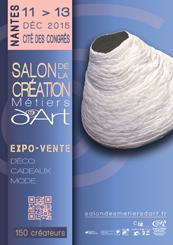 Actualité de Elisabeth JAN Salon des Métiers d'Art de Nantes