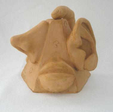 sculpture originale des cinq sens