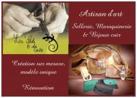 Retrouvez le site www.lesartsducuir.jimdo.com , isabelle jardon les arts du cuir