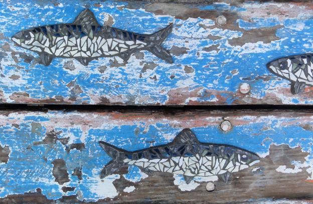 Actualité de gwenaele le doussal passionmozaik Saison 1 : banc de sardines