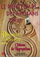 Actualité de Maxime Certine Créations Le Printemps des artisans d'art de Negrepelisse (82)