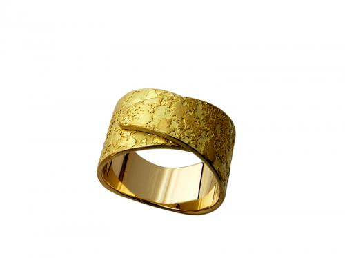 Bague 18 ct (12.10g). Taille 53