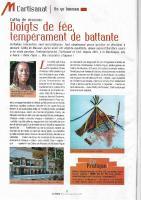 Actualité de Cathy de Moussac Baba Figue Créations France Antilles Magazine