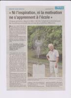 Actualité de Festival des Arts Plastiques de Besse sur Braye  Festival de Courtanvaux BESSE SUR BRAYE - LE MAINE LIBRE AOUT 2019