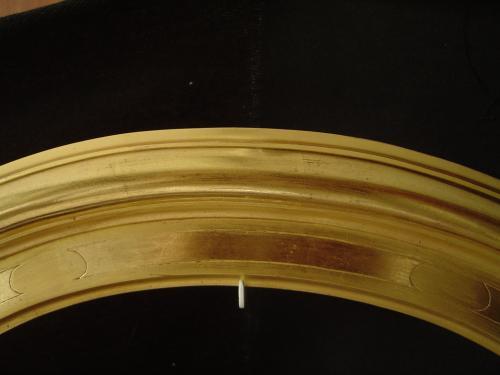 Détail cadre oval