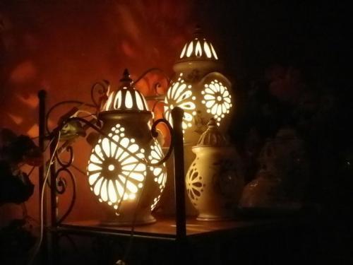 lampes ajourées