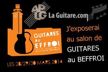 Actualité de Guitares Donadey GUITARES AU BEFFROI