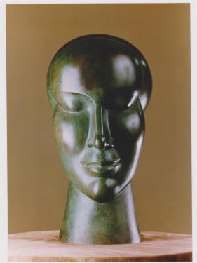 SERENITE - bronze- hauteur:46cm collection particulière. Tirages supplémentaires limités, sur commande .