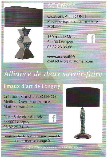 Actualité de CHRISTIAN LECLERCQ EMAUX D'ART DE LONGWY FIMA