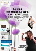 Election Miss Ronde IDF 2013 , ariane chaumeil Ar'Bords Essences - A la Guilde du Dragon de Verre