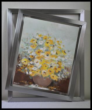 Cadre double pour toile F12 ( 61 x 50 ) Réf.103 Sur mesure, toutes dimensions pour photo ou toile. Vendu sans toile