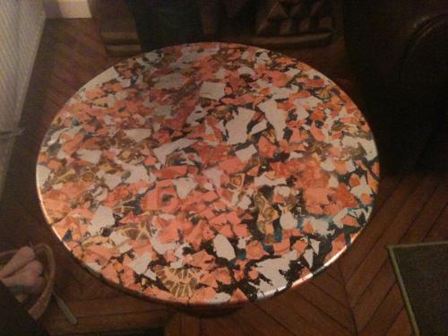 Créations pour mobiliers (plateau de table)