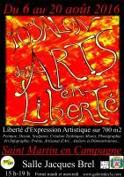 Actualité de Création Dominique A 10 ème salon des Arts en Liberté