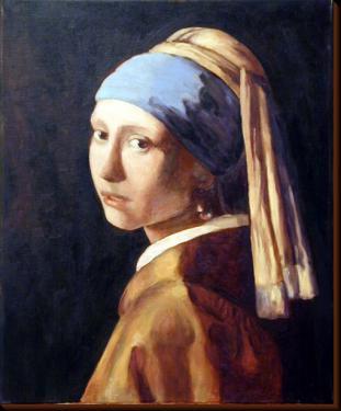 la femme à la perle - Vermeer (copie)