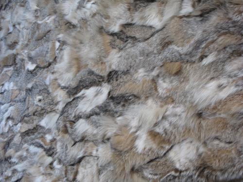 couverture patchwork de lynx de Canada à vendre !