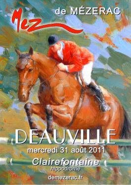 affiche - Deauville