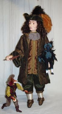 Marionnette la Fontaine le corbeau et le renard