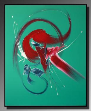 CROISEE DES CHEMINS Taille : 65X80 Peinture abstraite   Acrylique au couteau/pinceau Toile sur ch�ssis bois Cotation Drouot Site officiel : http://www.mapeinturesurtoile.com Prix : me contacter