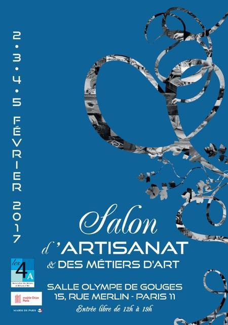 Actualité de Thibault Boorsch Fabienne SALON D'ARTISANAT ET DES METIERS D'ART;
