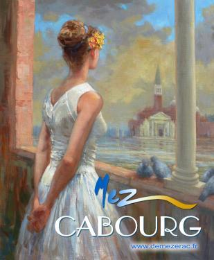 affiche - voeu ballerine MEZ Cabourg