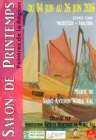 Exposition de Printemps de Saint Antonin Noble Val (82). , francine D'oliveira Rezende artiste peintre
