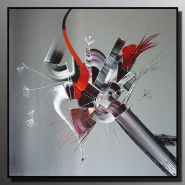 PARADISE Taille : 80X80 Peinture abstraite   Acrylique au couteau/pinceau Toile sur ch�ssis bois Cotation Drouot Site officiel : http://www.mapeinturesurtoile.com Prix : me contacter