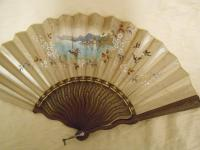 Actualité de Anne-Catherine Durand créations Eventail ancien de collection