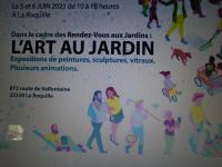 Actualité de Ruiz Marie Sculpteur L'art aux jardins