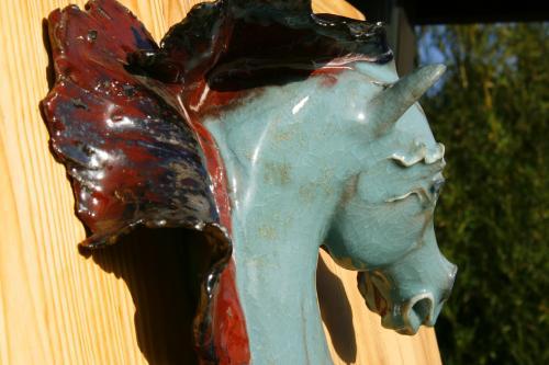 Verlaine, sculpture architecturale  Plus de photos et vente en ligne sur notre site:  http://www.ceramique-deco-maison.com