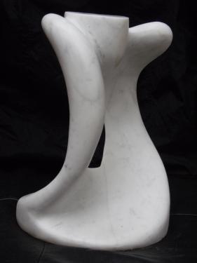 sculpture marbre de carrare