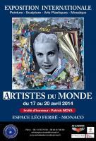 Exposition à MONACO , Michel Comte - joaillier scuplteur