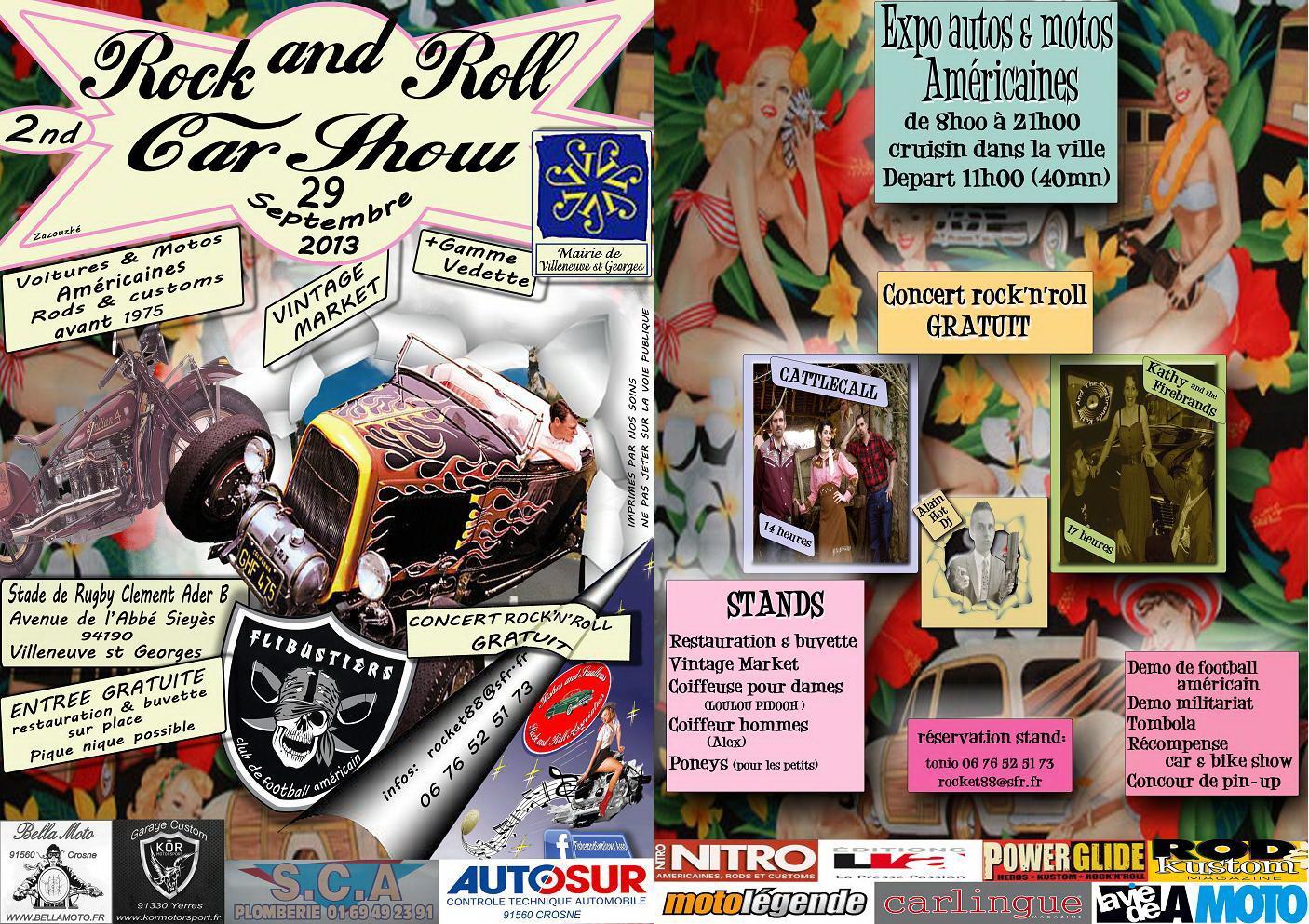 Actualit� de ariane chaumeil Ar'Bords Essences - A la Guilde du Dragon de Verre 2eme Rock'n Roll Car Show