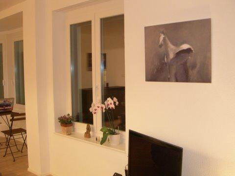 Cheval sur toile - format XL